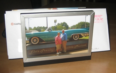 Photo Frame Letter Holder